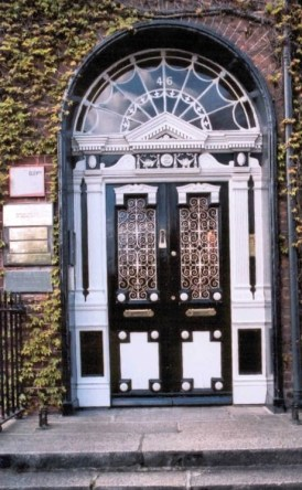 Dublin Georgian Door