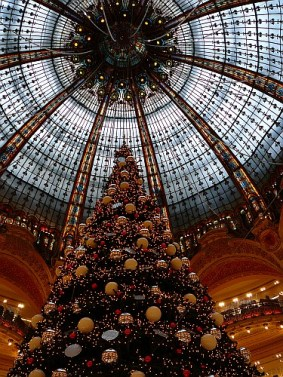 The dome of Galleries Lafayette, Paris