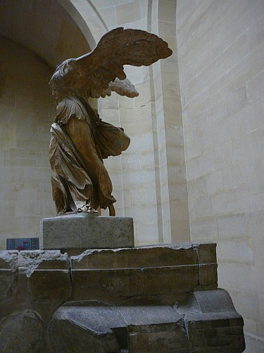 My favourite in the Louvre, the Winged Victory of the Samothrace