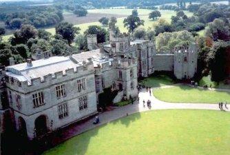 Warwick Castle from the castle walls