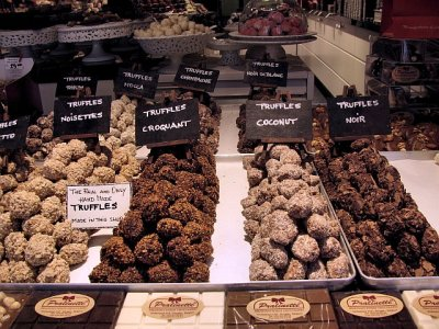 It's all about chocolate in Brugges, Belgium