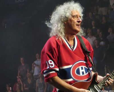 Queen's Brian May Montreal, July 2014