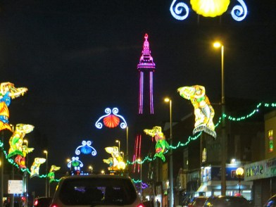 Blackpool Tower illuminated