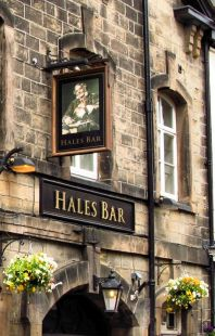 Hales Bar, Harrogate, one of the oldest in the city.