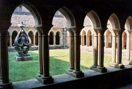 The Cloisters at Iona Abbey, Scotland