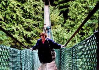 Me at Lynn Canyon, circa April 2000