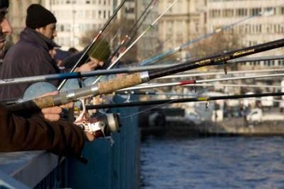 Рыбалка на дамбе