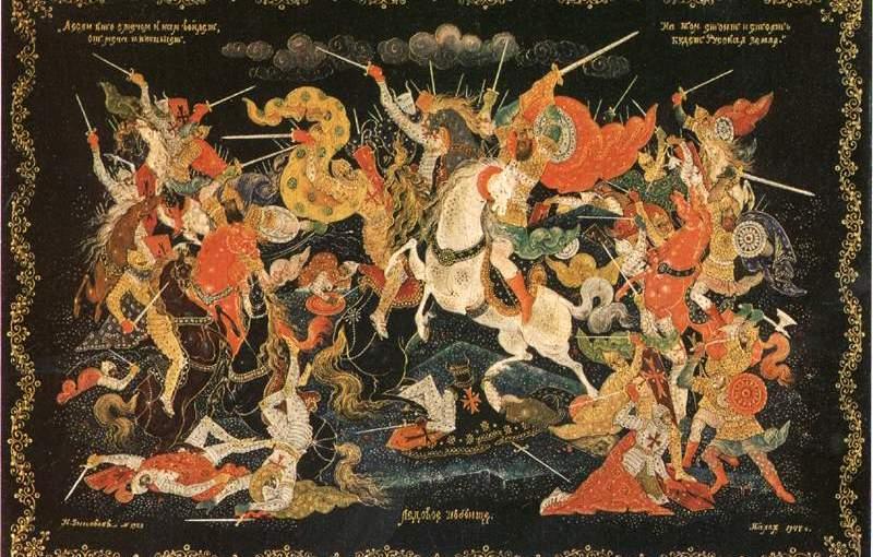 След в культуре: святой благоверный князь Александр Невский