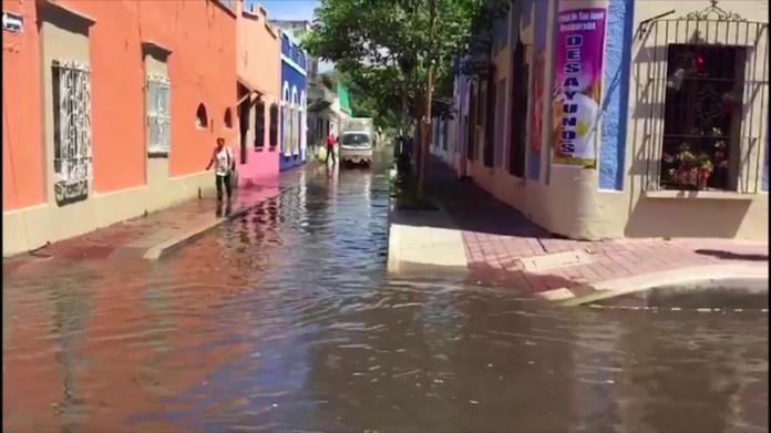 Resultado de imagen para inundaciones mazatlan centro