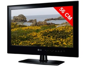 Téléviseur LED 56 cm LG 22LE3300