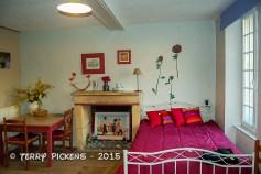 Our Bayeux B&B room