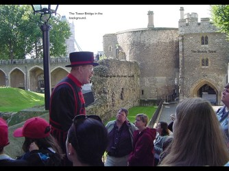 Beefeater Tour Guide