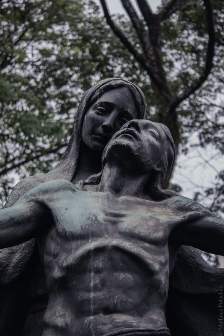 Mother holds body of Jesus