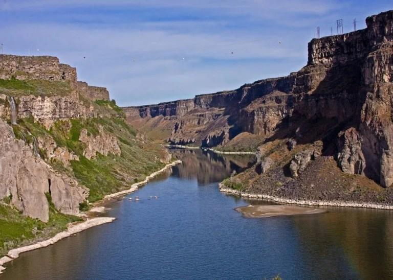 Southern Idaho canyon