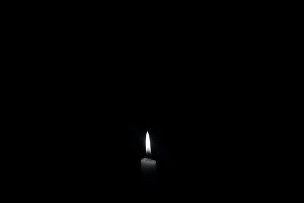 darkness one candle