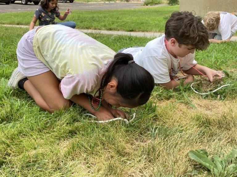 children at peace camp
