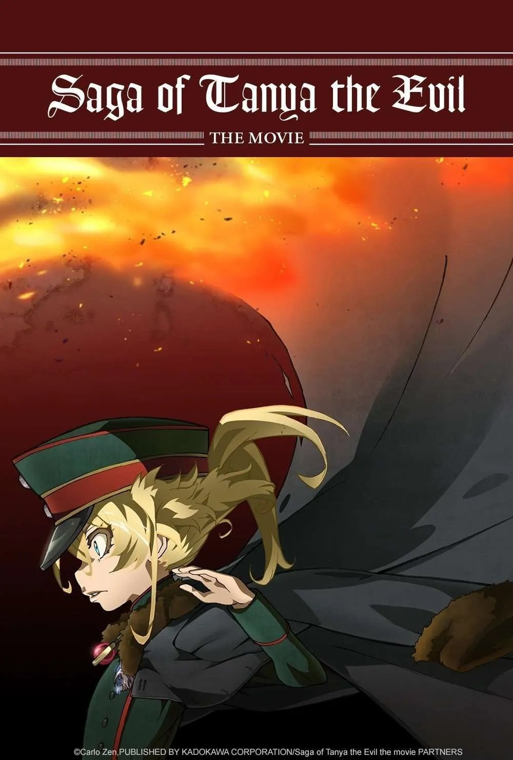Saga Of Tanya The Evil Film Vostfr : tanya, vostfr, Tanya, Movie, Arrive, Crunchyroll