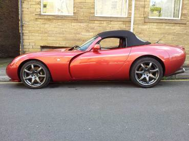 TVR Tuscan S Convertible (7)