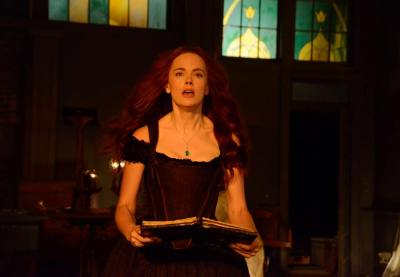 Katrina casts a spell in spell on Sleepy Hollow.
