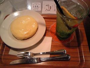 神戸元町「観音屋」のデンマークチーズケーキ