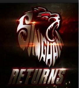 singham returns logo movie details poster wallpaper
