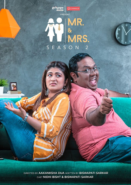 'Girliyapa Mr. and Mrs Season 2' S2 TVF Wiki, Cast, Release Date, story, Plot, Pics, Images| TvSerialinfo