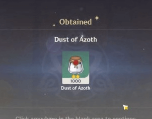 Genshin Impact How to Find & Use Dust of Azoth (& What It's For)