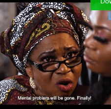 Out Of Her Mind [Yoruba Movie]