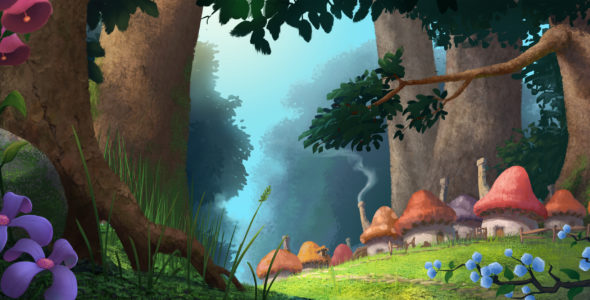 3d Smurfette Wallpapers The Smurfs Sony Announces The Lost Village Sequel Feature