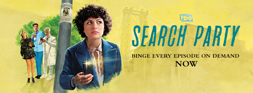 Search Party TV Show On TBS: Ratings (cancel Or Season 2