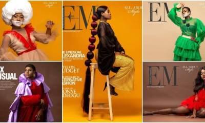 BBNaija star Alex Unusual Covers Exquisite Magazine's Latest Issue