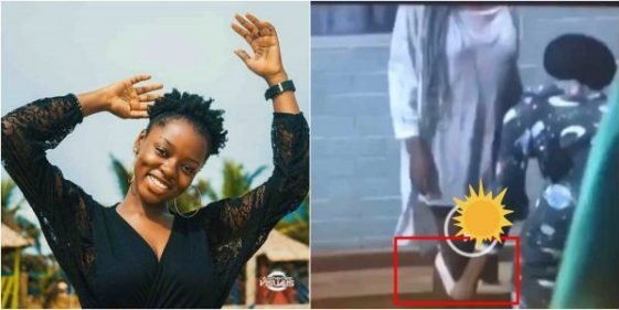 BBNaija 2019: Diane removes her pant before other housemates