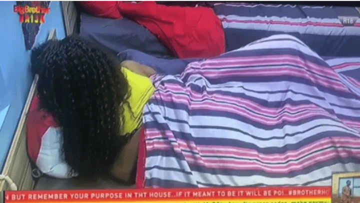 BBnaija 2019 Day 20: Ike and Mercy make up under the duvet (Video)