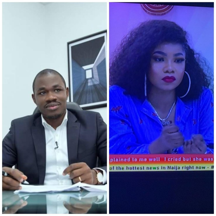 BBNaija 2019: Disqualification of Tacha is unjust if Mercy is not disqualified - says Lawyer