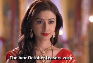 The Heir 21 October 2019 Update On Zee World Series