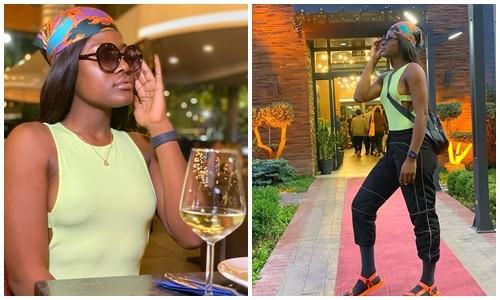 'No Bra Day' BBNaija star, Alex Asogwa steps out braless (Photos)
