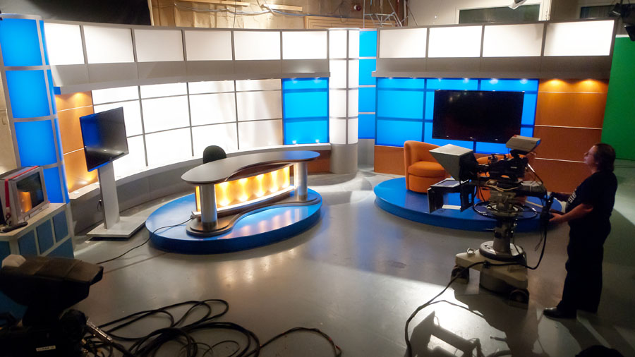 Platforms Risers and Staging  TV Set Designs