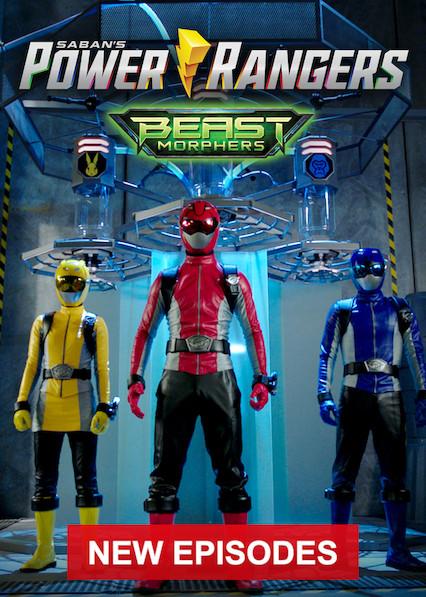 Power Rangers Beast Morphers on Netflix USA