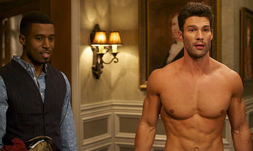 (L to R) Jeffery Harrington (Played by Gavin Houston) and Wyatt Cryer (Played by Aaron O'Connell) - Photo: OWN: Oprah Winfrey Network