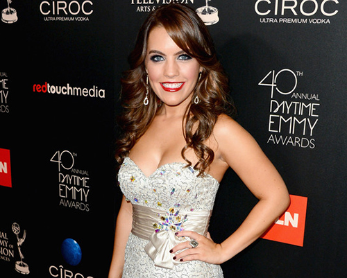 Actress Kristen Alderson attends The 40th Annual Daytime Emmy Awards at The Beverly Hilton Hotel on June 16, 2013 in Beverly Hills, California. Photo Credit: Mark Davis/Getty Images North America