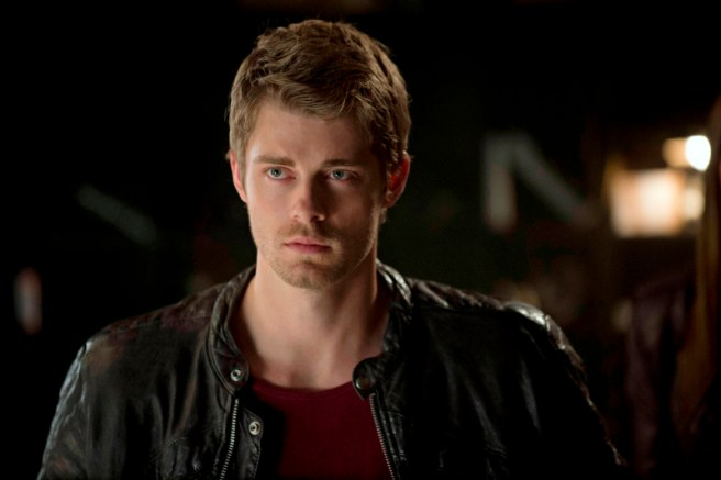 "The Tomorrow People -- ""Girl Interrupted"" -- Image Number: TP103a_0138.jpg --Pictured: Luke Mitchell as John -- Photo: Cate Cameron/The CW -- ©2013 The CW Network, LLC. All rights reserved."