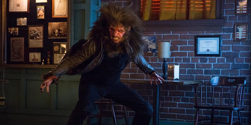 "GRIMM -- ""The Good Soldier"" Episode 311 -- Pictured: Gonzalo Menendez as Manticore Creature -- (Photo by: Scott Green/NBC)"