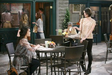 Bev stirs up trouble for Paige and JJ.