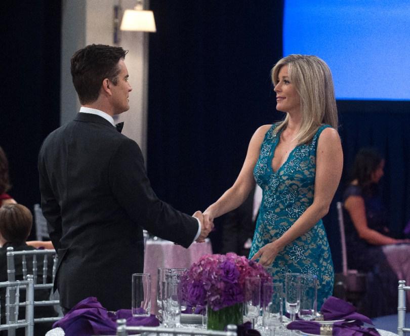 "GENERAL HOSPITAL - 2015 NURSES BALL - 3/24/15 The Nurses Ball begins airing Friday, May 1, 2015 - Tuesday, May 5, 2015 on ABC's ""General Hospital"". The Emmy-winning daytime drama ""General Hospital"" airs Monday-Friday (3:00 p.m.- 4:00 p.m., ET) on the ABC Television Network. GH15, Episodic (ABC/Todd Wawrychuk) FINOLA HUGHES, MICHAEL LEONE, RICK HEARST, LAURA WRIGHT"