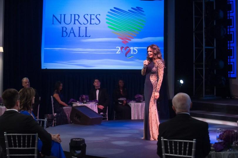 "GENERAL HOSPITAL - 2015 NURSES BALL - 3/24/15 The Nurses Ball begins airing Friday, May 1, 2015 - Tuesday, May 5, 2015 on ABC's ""General Hospital"". The Emmy-winning daytime drama ""General Hospital"" airs Monday-Friday (3:00 p.m.- 4:00 p.m., ET) on the ABC Television Network. GH15, Episodic (ABC/Todd Wawrychuk) WILLIAM DEVRY, NANCY LEE GRAHN, IAN BUCHANAN, LYNN HERRING"