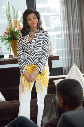 EMPIRE: Taraji P. Henson as Cookie Lyon in the ÒFires Of HeavenÓ episode of EMPIRE airing Wednesday, Oct. 7 (9:00-10:00 PM ET/PT) on FOX. ©2015 Fox Broadcasting Co. Cr: Chuck Hodes/FOX.