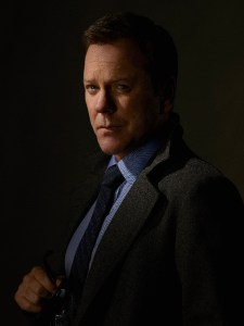 "DESIGNATED SURVIVOR - ABC's ""Designated Survivor"" stars Kiefer Sutherland as Tom Kirkman. (ABC/Bob D'Amico)"