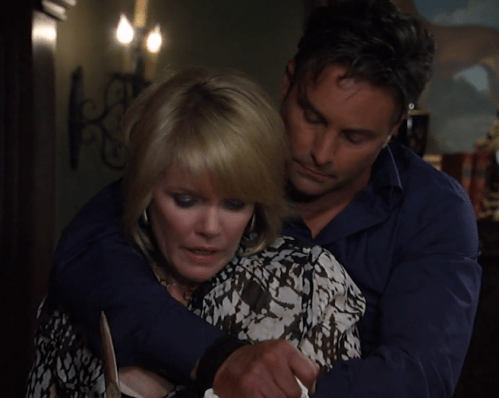 Ava and Nik are fit to be tied after being kidnapped.
