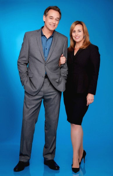 """GENERAL HOSPITAL - The Emmy-winning daytime drama """"General Hospital"""" airs Monday-Friday (3:00 p.m. - 4:00 p.m., ET) on the ABC Television Network. GH16 (ABC/Craig Sjodin) JON LINDSTROM, GENIE FRANCIS"""