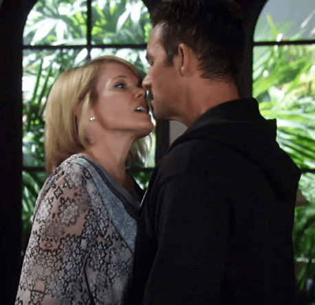 Ava uses her charm to tempt Valentin.